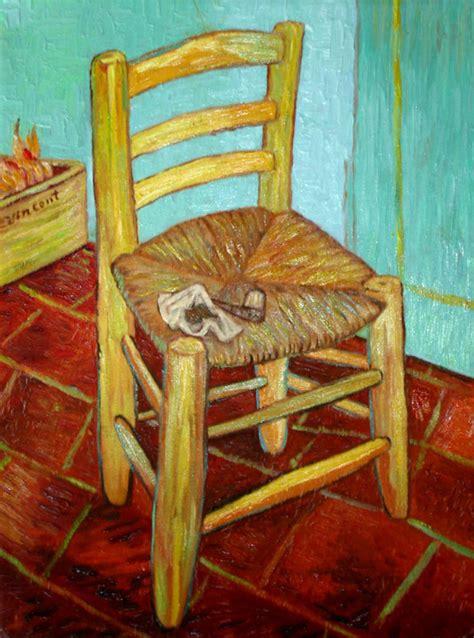 histoire de la chaise la chaise de gogh