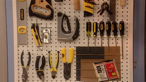 video     pegboard tool organizer martha stewart