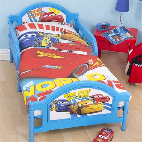 cars bedroom set disney cars duvet cover sets in single and junior