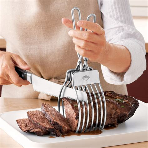 gadgets cuisine turkey or roast cutting tongs kitchen gadgets