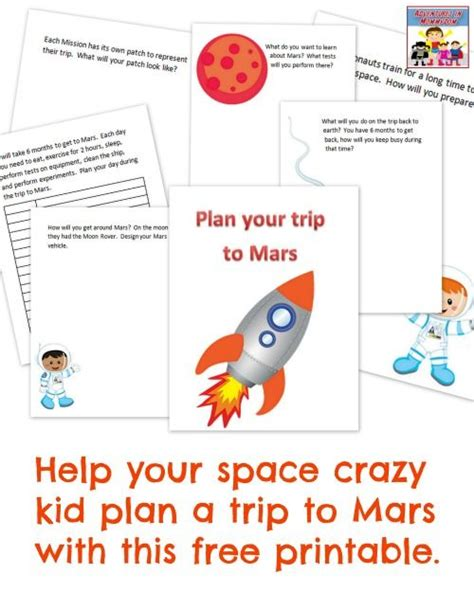 journey  mars astronomy  kids earth space