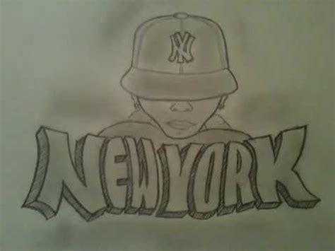 "Drawing Graffiti "" New York"" Youtube"