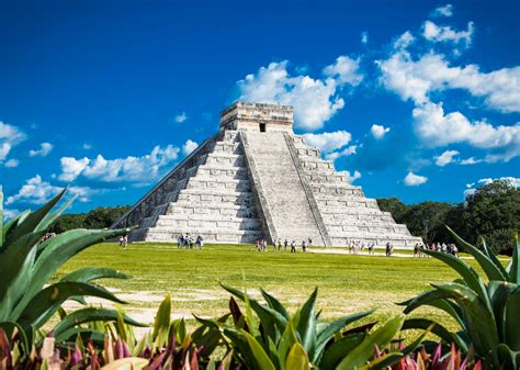 New Seven Wonders Of The World Temple Of Kukulcan Mexico