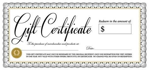 gift certificate template 18 gift certificate templates excel pdf formats