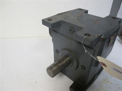 winsmith wu  angle  shaft gear reducer ratio   input hp