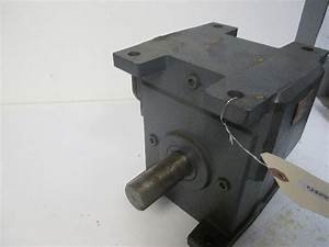Winsmith 300wu Right Angle 3 Shaft Gear Reducer Ratio 60 1