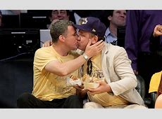 Will Ferrell and John C Reilly Memorable Kiss Cam