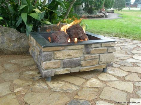 how to build a gas pit how to build a brick pit with gas fireplace design