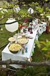 outdoor party themes; Outdoor Movie Night. | Inspirational outdoor garden party ideas