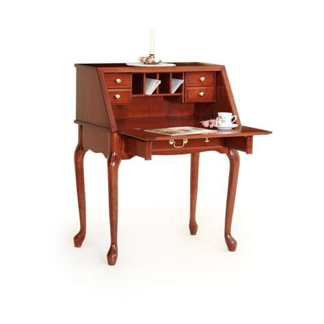 queen anne desk with hutch queen anne secretary desk amish queen anne secretary
