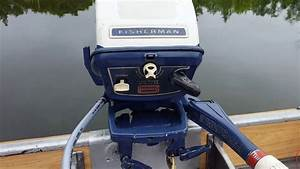 1966 Johnson 6hp Outboard
