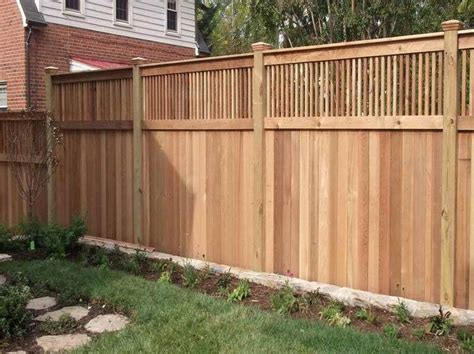 The 25+ Best Privacy Fence Designs Ideas On Pinterest