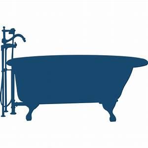 Bath tub silhouette vector image | Public domain vectors