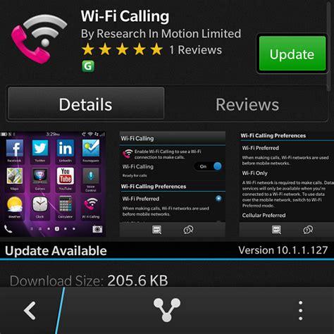 wifi phone app t mobile wifi calling app update in blackberry
