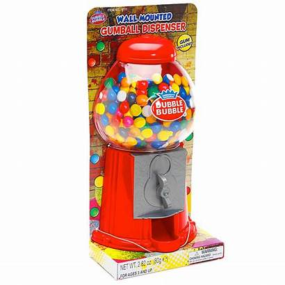 Gumball Dispenser Machine Mounted Gumballs Candy Inch