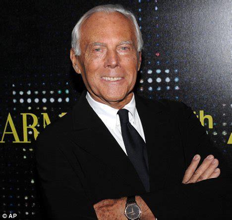 giorgio armani designer olympic fashion armani to create kit for italy at 2012