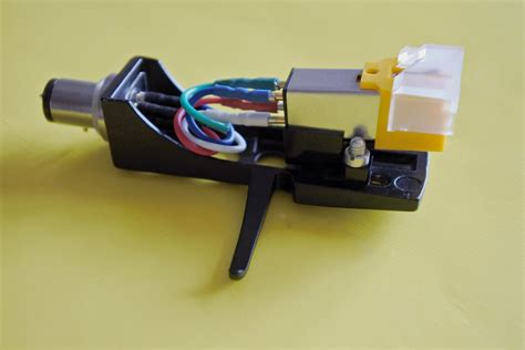 Black Headshell Audio Technica At91 Cartridge With