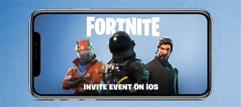 fortnite battle royale  coming  iphone  ipad