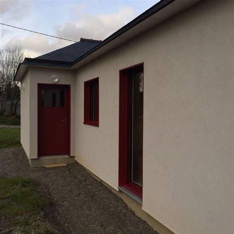 isolation par l ext 233 rieur sur maison ossature bois pr 232 s de brest dans le finist 232 re 29