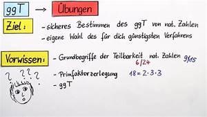 Größter Gemeinsamer Teiler Berechnen : gr ter gemeinsamer teiler ggt bungsvideo mathematik online lernen ~ Themetempest.com Abrechnung