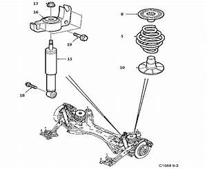 Saab 9-3 Nut  Chassis  Chassi  Generator