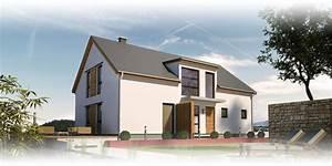 Moderne Häuser Mit Satteldach : massivhaus mit satteldach beipielplanung 1 jetzthaus ~ Lizthompson.info Haus und Dekorationen
