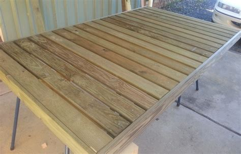 Portable Wood Deck