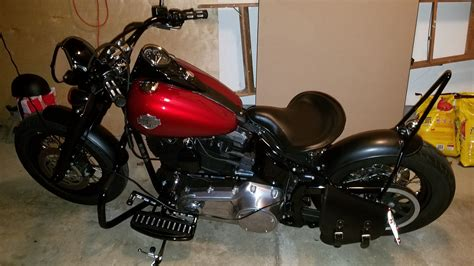 Harley Davidson Softail Slim Modification by Harley Davidson Softail Slim Bobber Custom Motorcycle