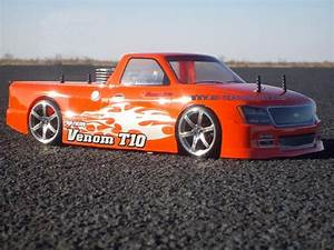 Venom T-10 Custom Painted RC Touring Car / RC Drift Car ...