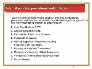 insurance anti money laundering With money laundering policy template
