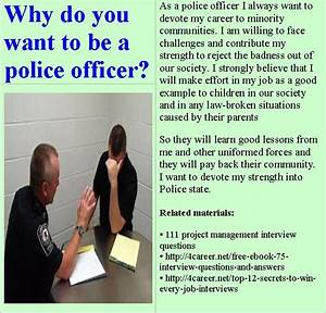 i want to be police officer essay