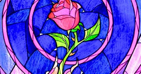 Enchanted Rose Stained Glass