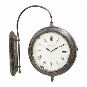 Horloge En Metal : horloge en m tal galerie 1894 maisons du monde ~ Teatrodelosmanantiales.com Idées de Décoration