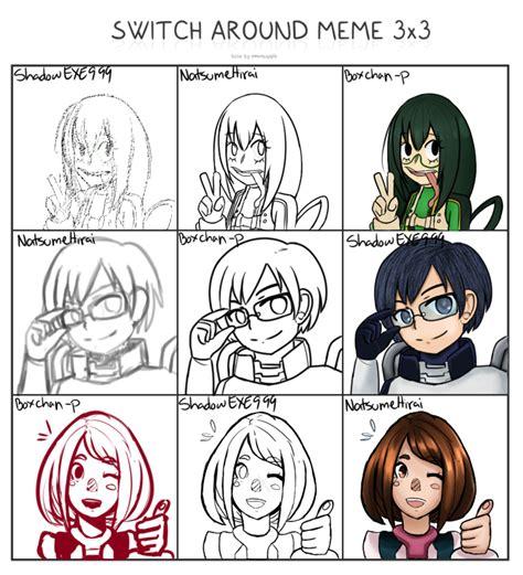 Boku No Hero Academia Memes - switcharound meme 2 boku no hero academia edition by exekiella on deviantart