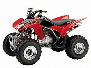 2001-2005 Honda Trx250ex Atv Service Manual