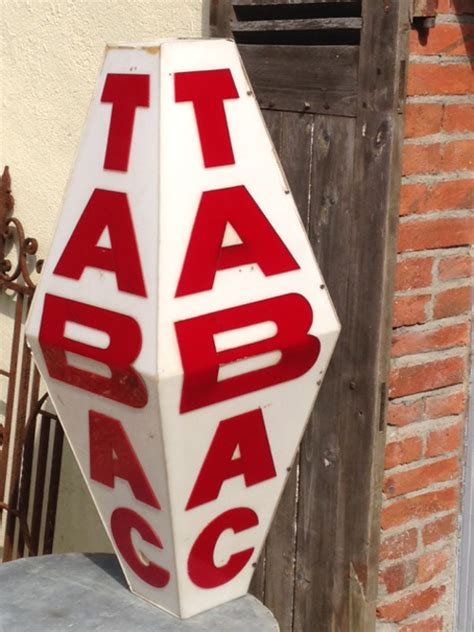 full size  french tabac sign