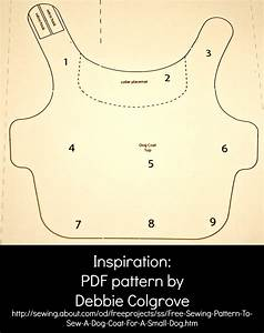 pattern for a 12 pound dog coat little coat i found With dog coat template