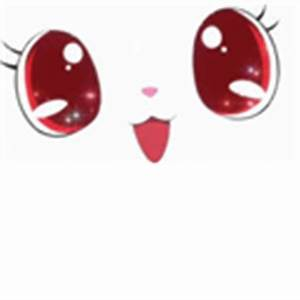 Cute anime cat face - Roblox