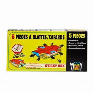 Piege A Cafard : sticky box 5 pi ges blattes cafards ~ Melissatoandfro.com Idées de Décoration