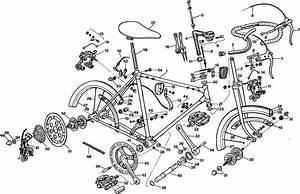 Exploded Bike