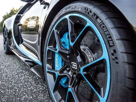 Unlike The Bugatti Veyron, The Chiron's Tires Don't Cost