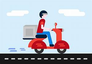 Free Delivery Boy Vector - Download Free Vector Art, Stock ...