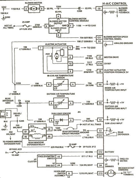 1994 Fleetwood Wiring Diagram by I Need A Wiring Schematic For A 1994 Cadillac Fleetwood A