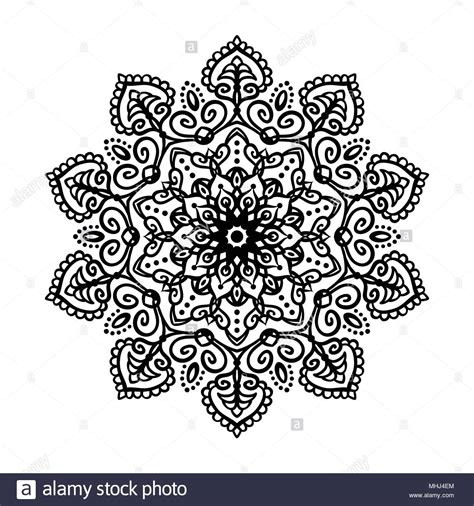 mandala tattoo design element  ornament decoration