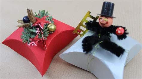 schachtel fuers weihnachtsgeschenk oder fuer die silvester deko basteln deko ideen mit flora shop