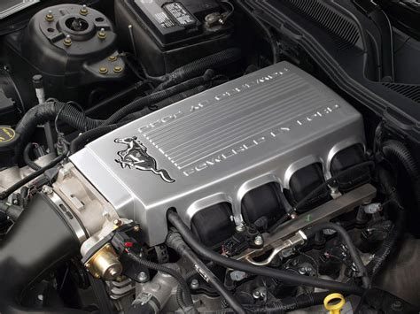 2005 Ford Gt Engine by 2005 Ford Mustang Gt Engine Bay 1280x960 Wallpaper