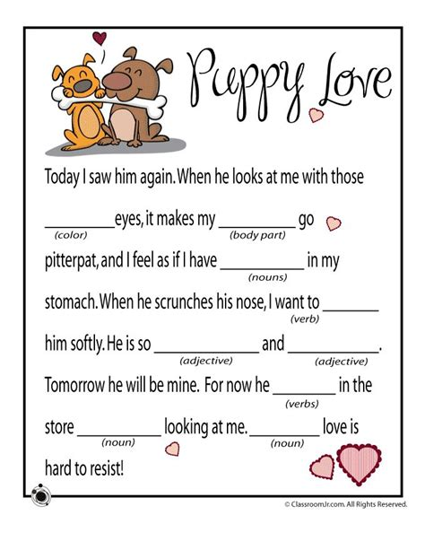 mad libs s day mad libs mad libs for adults valentines for kids