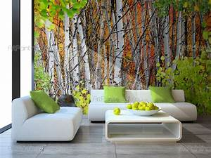 Poster Mural Nature : wall murals posters custom size aspen trees mcp1143en ~ Teatrodelosmanantiales.com Idées de Décoration