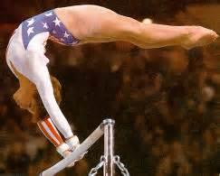lou retton uneven bar routine u s a s gymnastics throughout the olympics