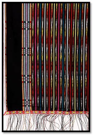 motif tradisi batak sarunai sumatera